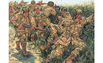 101st Airborne US Paratroopers