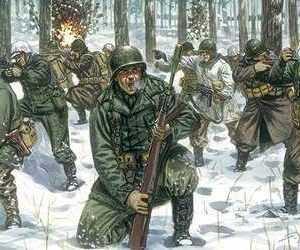 WWII U.S.Infanterie Winteruniform