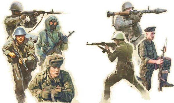 Warschauer Pakt Truppen
