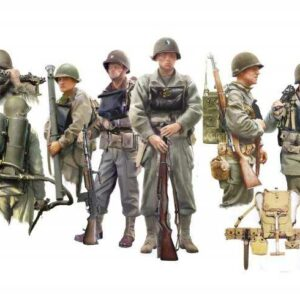 Figuren-Set U.S. Infanterie an Bord