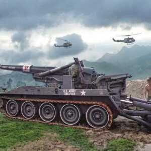 M110 Self Propelled Howitzer
