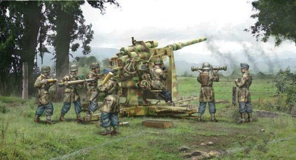 8.8cm Flak 37 with crew (7 Figuren)