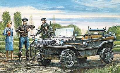 VW-Schwimmwagen Typ 186