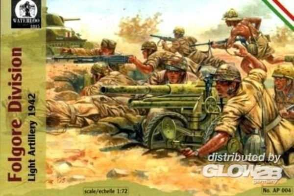 Folgore Division Light Artillery, 1942