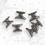 Metall-Klemme, 7mm, 10 Stück