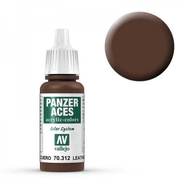 Panzer Aces 012 Leather Belt 17 ml