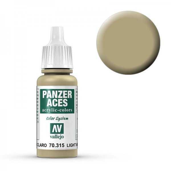 Panzer Aces 015 Light Mud 17 ml