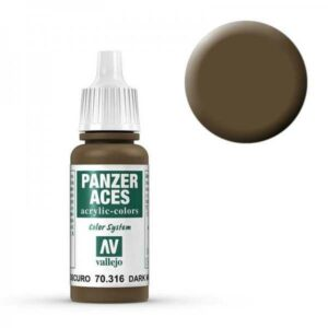 Panzer Aces 016 Dark Mud 17 ml