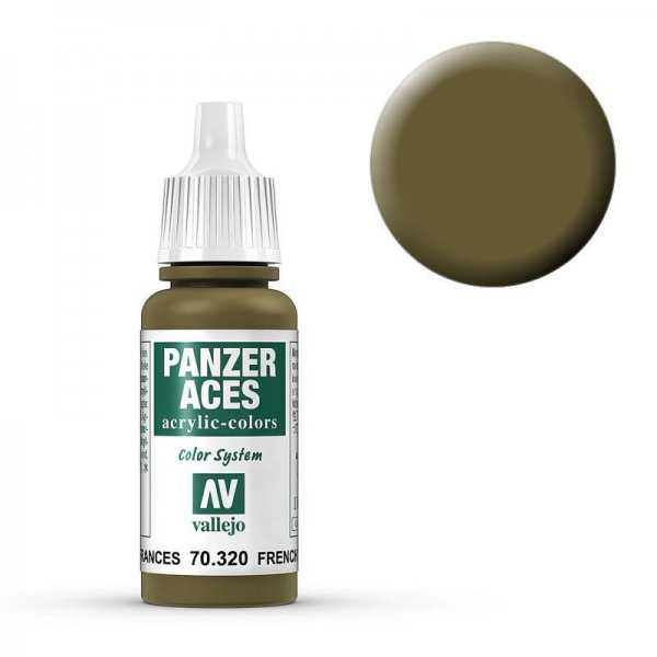 Panzer Aces 020 French Tankcrew 17 ml