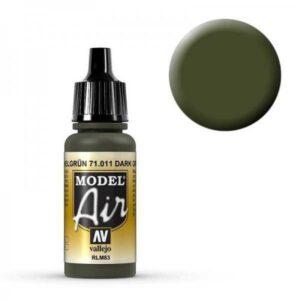 Model Air - Panzergrün (Tank Green) - 17 ml