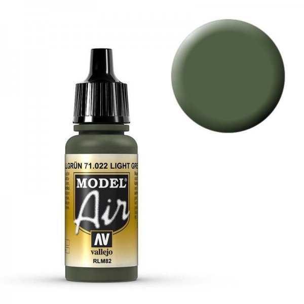 Model Air - Tarnfarbe Hellgrün RLM 82 (Camouflage Green) - [17 ml]
