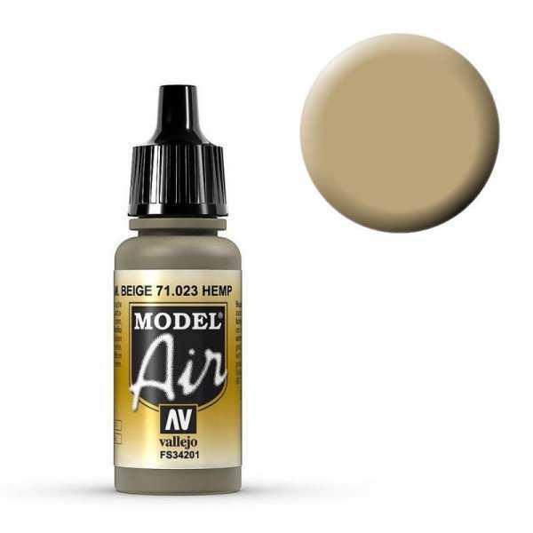 Model Air - Hanfbeige (Hemp) - 17 ml