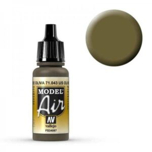 Model Air - Olivbraun (Olive Drab) - 17 ml