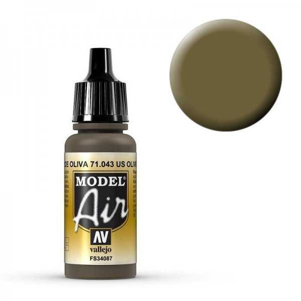 Model Air - Olivbraun (Olive Drab) - 17 ml