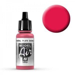 Model Air - Signalrot (Turn Signal Red Metal) - 17 ml