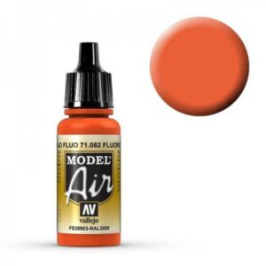 Model Air - Leuchtrot (Fluorescent Red) - 17 ml