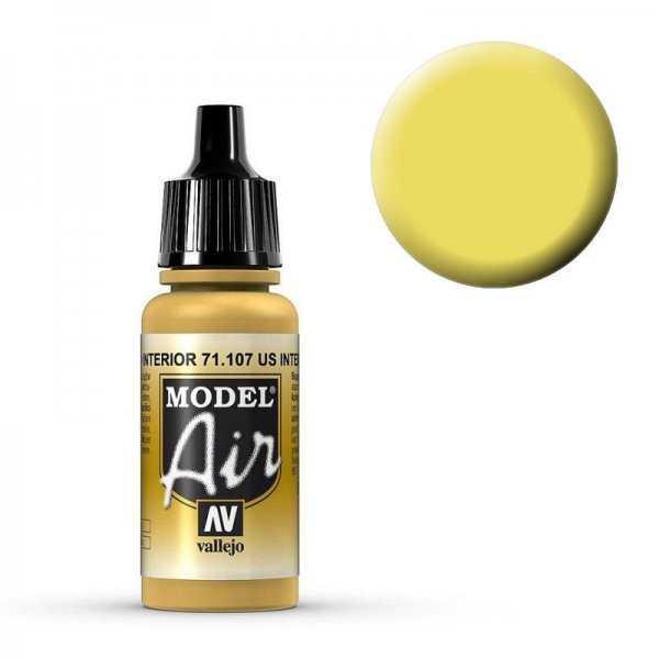 Model Air - US Gelb Innenausstattung (US Interior Yellow) - 17 ml