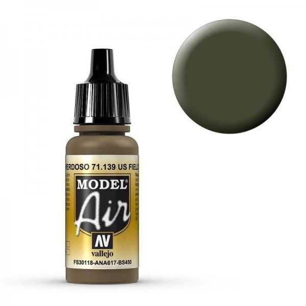 Model Air - US Erdbraun - 17 ml