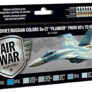 Model Air Farbset - SU 27 Flanker (8x17ml)