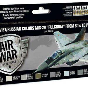 Model Air Farbset - MiG 29 Fulcrum (8x17ml)