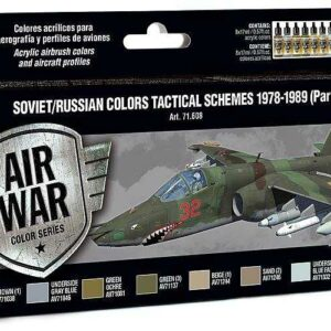 Model Air Farbset - Russische Tarnung 1978 - 1989 (8x17ml)