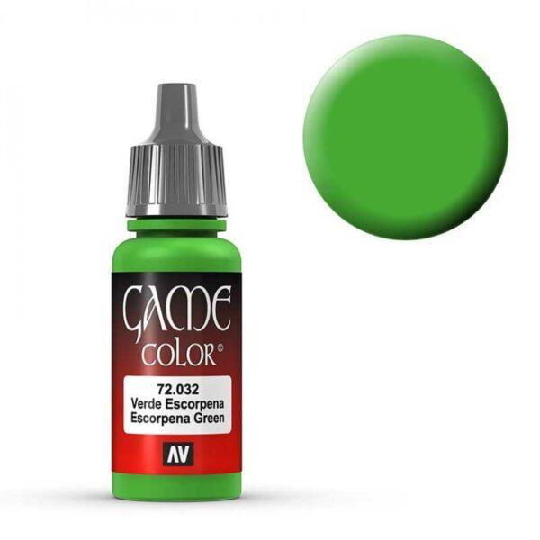 Escorpena Green - 17 ml