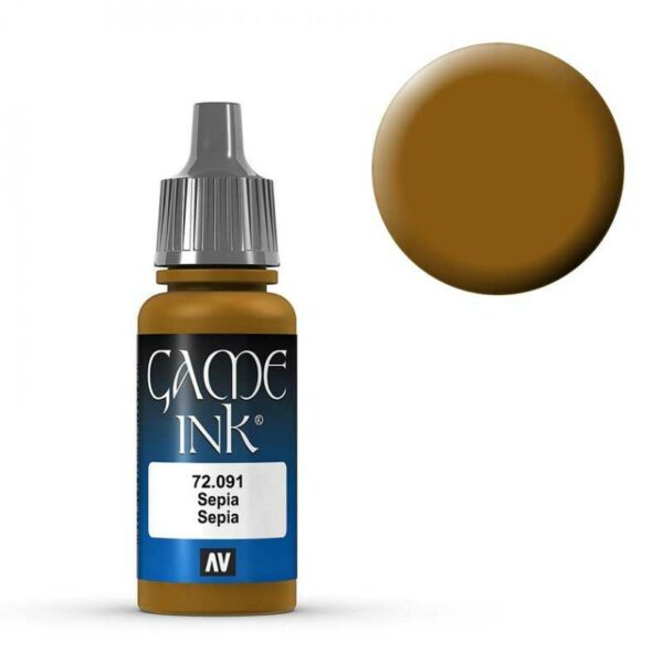 Sepia  Ink - 17 ml