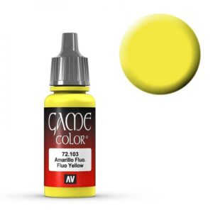 Fluo Yellow - 17 ml