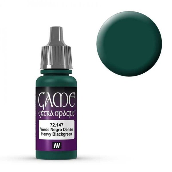Heavy Blackgreen - 17 ml