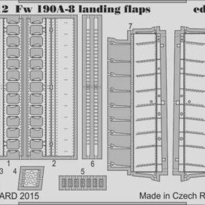 Focke-Wulf Fw 190 A-8 - Landing flaps [Eduard]