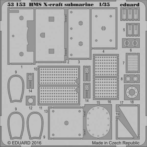 HMS X-craft submarine [Merit]