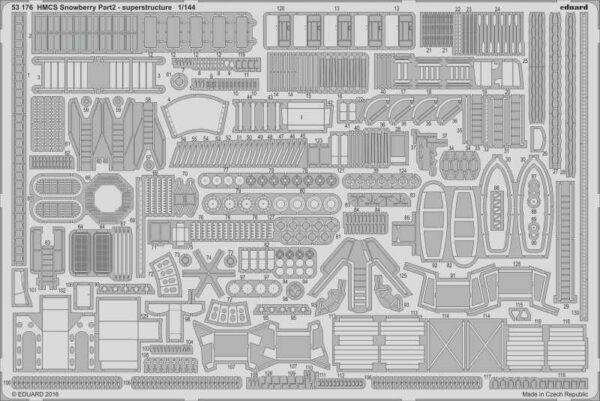 HMCS Snowberry - Flower Class Corvette (early) - Part 2 - Superstructure [Revell]