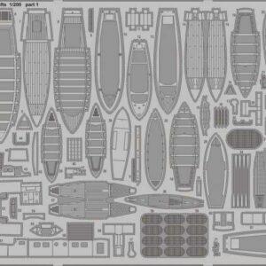 HMS Hood - Pt.4 Life rafts [Trumpeter]