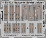 Seatbelts Soviet Union WW2 fighters - STEEL