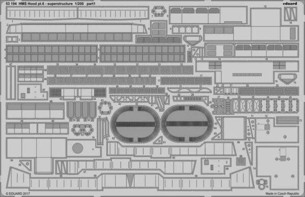 HMS Hood - Pt.6 Superstructure [Trumpeter]