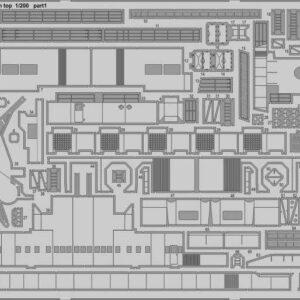 HMS Hood -  Pt.7 Main top [Trumpeter]