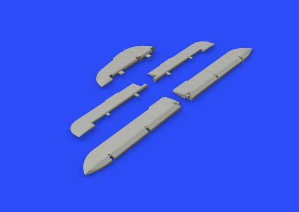 Focke Wulf Fw 190A - Control surfaces early [Eduard]