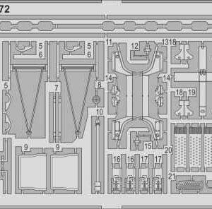 Patrol Torpedo Boat PT109 - Guns & life raft [Revell]