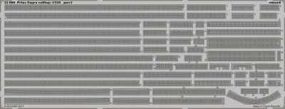 Prinz Eugen railings [Trumpeter]