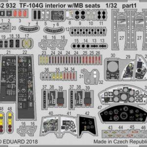 Starfighter TF-104G - Interior w/MB seats [Italeri]