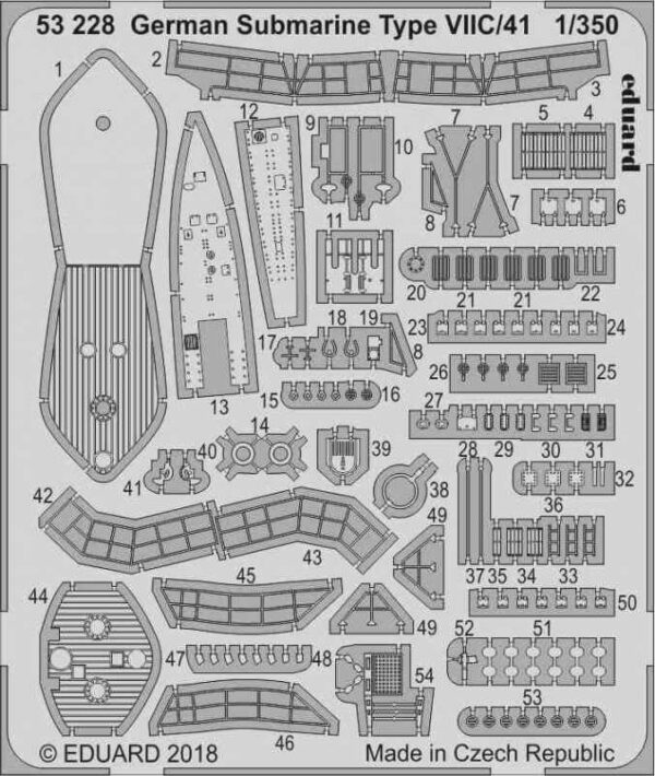 German Submarine Type VII C/4 [Revell]