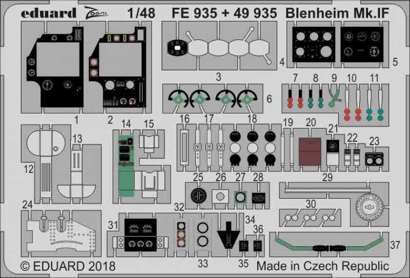 Bistol Blenheim Mk.IF [Airfix]