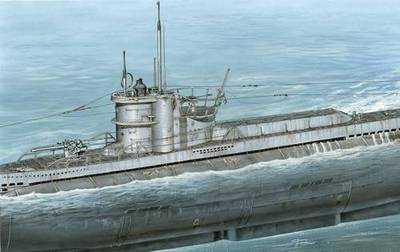 U-Boot VII D conversion set Für Revell Bausatz