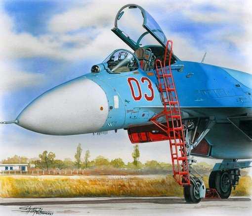 Ladder for Su-27