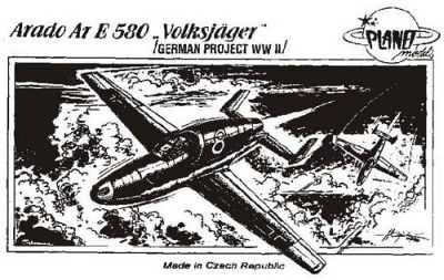 Arado Ar.E-580 Volksjäger, WW II Projekt