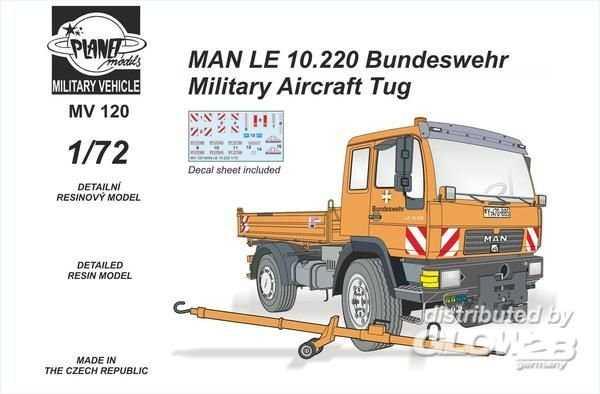 MAN LE 10.220 Bundeswehr Military Aircra Tug-All Resin Kit