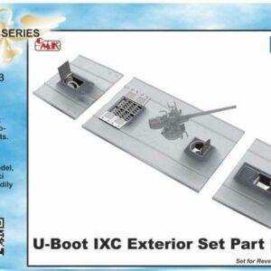 U-Boot IX - Open Front & Rear Torpedo Muzzle [Revell]