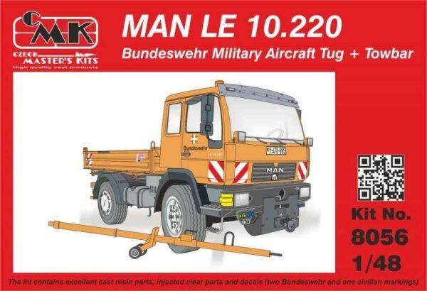 MAN LE 10.220 Bundeswehr Military Aircra Tug + Towbar