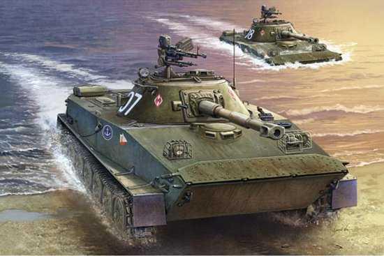 Polish PT-76B