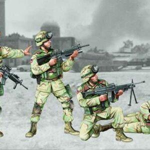 US 101st Airborne Division Crew